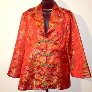 Jackets & Blazers - Handmade Plus Size Authentic Kimono Jacket